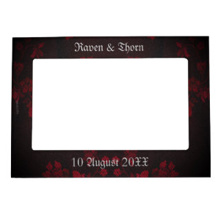 Eternal Handfasting Wedding Suite Picture Frame Magnets