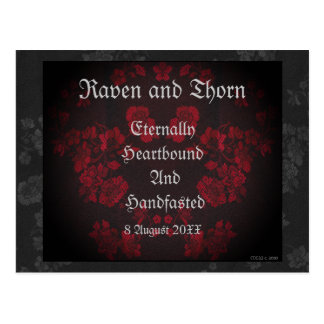Eternal Handfasting/Wedding Suite Postcard