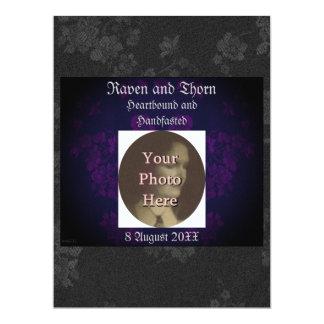 Eternal Handfasting/Wedding Suite Purple Card
