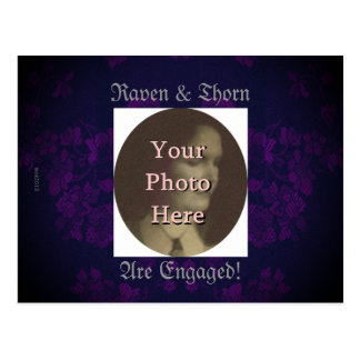 Eternal Handfasting/Wedding Suite Purple Postcard