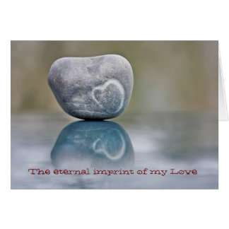 Eternal imprint of my Love Card