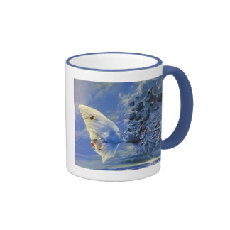 Eternal Kiss Ringer Coffee Mug