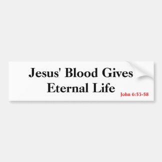 Eternal Life Car Bumper Sticker