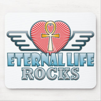 Eternal Life Rocks Mouse Pad