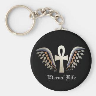 Eternal Life- Silver Ankh Keychain