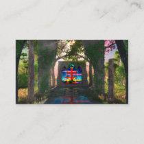 Eternal Light Easter Bookmarks Business Card