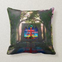 Eternal Light Easter Pillow
