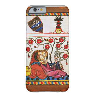 ETERNAL LOVE MONOGRAM parchment Barely There iPhone 6 Case
