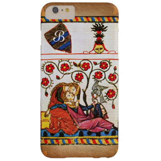 ETERNAL LOVE MONOGRAM parchment Barely There iPhone 6 Plus Case