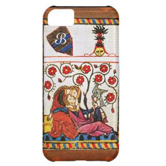 ETERNAL LOVE MONOGRAM parchment Case For iPhone 5C
