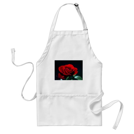 Eternal love Rose Adult Apron
