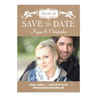 Eternal Love Save The Date - Craft Card