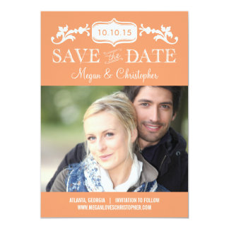 Eternal Love Save The Date - Editable Color Card