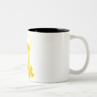 Eternal Love Two-Tone Coffee Mug