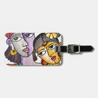 Eternal Lovers -Radha Krishna Bag Tags