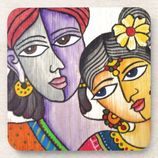 Eternal Lovers -Radha Krishna Coasters