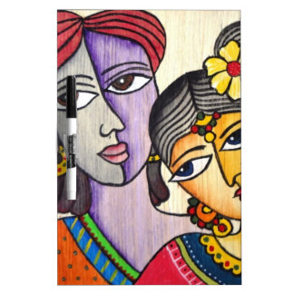 Eternal Lovers -Radha Krishna Dry Erase Whiteboards
