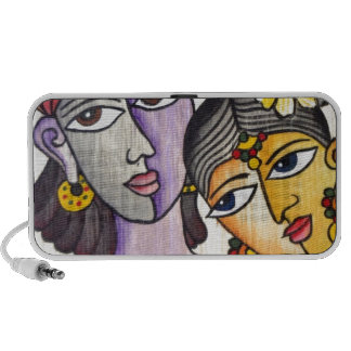 Eternal Lovers -Radha Krishna Laptop Speakers