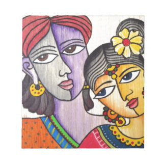 Eternal Lovers -Radha Krishna Memo Notepads