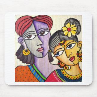 Eternal Lovers -Radha Krishna Mouse Pad