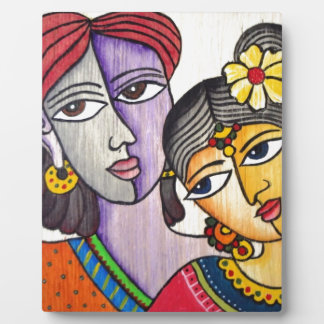 Eternal Lovers -Radha Krishna Photo Plaque
