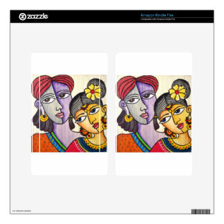 Eternal Lovers -Radha Krishna Decal For Kindle Fire