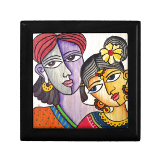 Eternal Lovers -Radha Krishna Trinket Box
