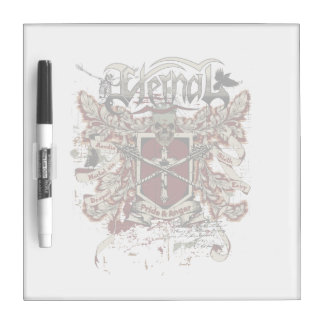 eternal pride anger affected red Dry-Erase whiteboard