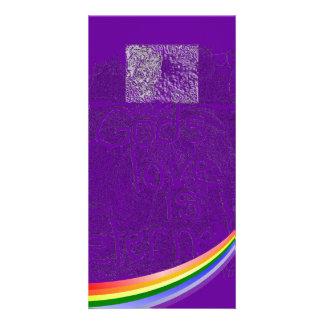 Eternal Rainbow Photo Card