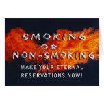 ETERNAL RESERVATIONS - SMOKING OR NON-SMOKING GREETING CARDS