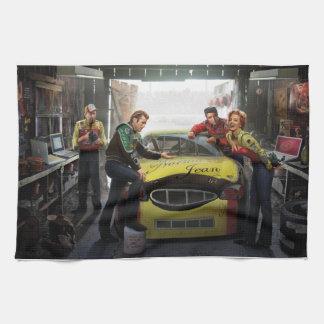 Eternal Speedway 2 Kitchen Towel