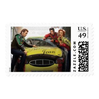 Eternal Speedway Postage Stamp