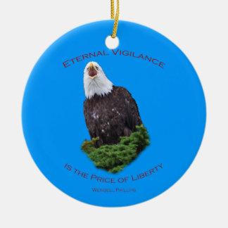 Eternal Vigilance Christmas Tree Ornaments