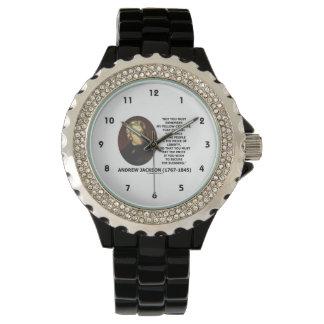 Eternal Vigilance People Price Of Liberty Jackson Wristwatch