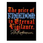 Eternal Vigilance Postcard