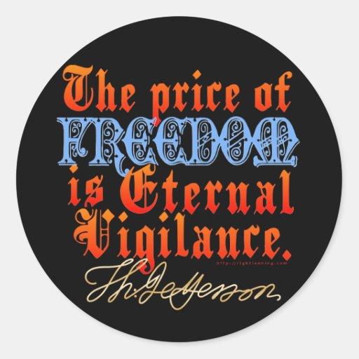 Eternal Vigilance Sticker