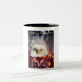 Eternal Vigilance Two-Tone Coffee Mug