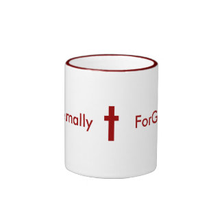 Eternally ForGiven Two Toned Mug