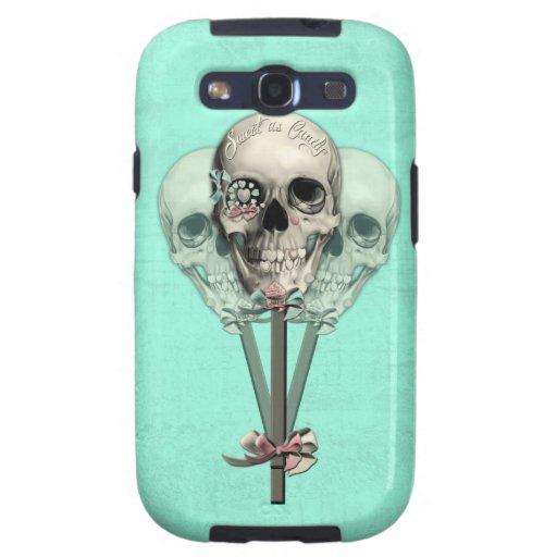 Eternally Sweet lollipop skull. Galaxy S3 Covers