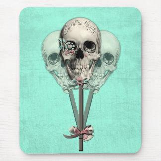Eternally Sweet lollipop skull. Mouse Pad