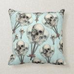 Eternally Sweet Skull Lollipops Pillow