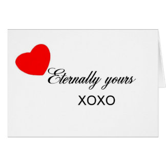Eternally Yours Card