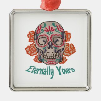 Eternally Yours Metal Ornament