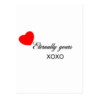 Eternally Yours Postcard