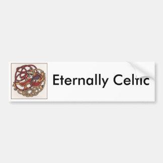 Eternamente Celtic Pegatina Para Auto
