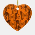 eternidad 2 de la mariposa ornaments para arbol de navidad