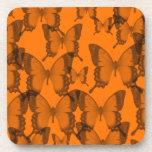 eternidad 2 de la mariposa posavasos de bebida