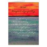 Eternidad… La tarjeta de condolencia más profunda