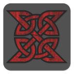 Eternit Knot (Celtic) - pick your background color Square Sticker