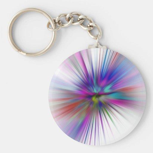 Eternity Basic Round Button Keychain